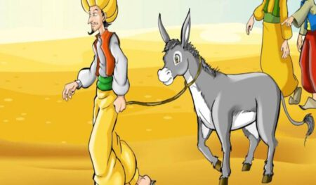 قصة جحا والملك من قصص جحا