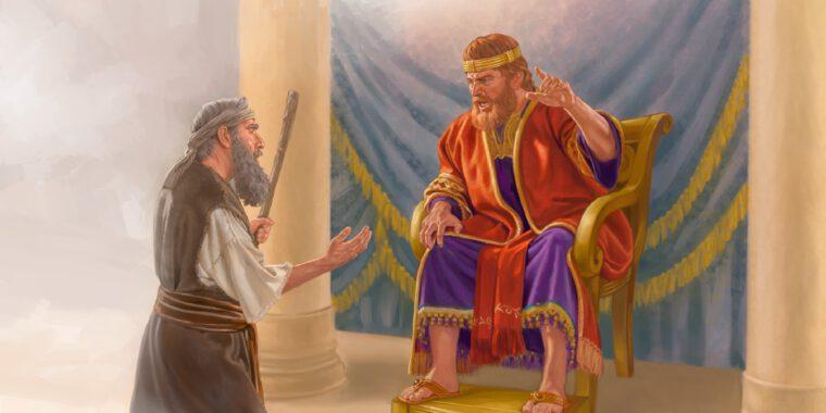 قصة جحا والملك