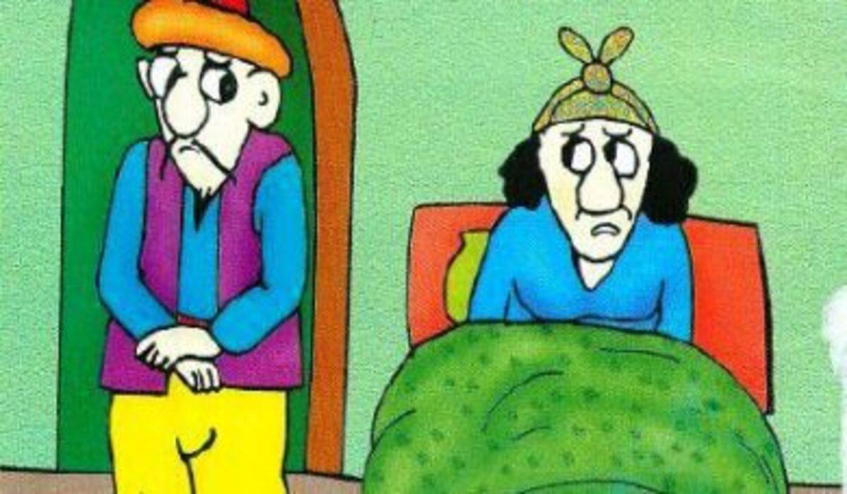 قصة جحا وزوجته والحمار